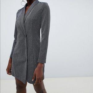 Vero Moda silver blazer-dress size 8